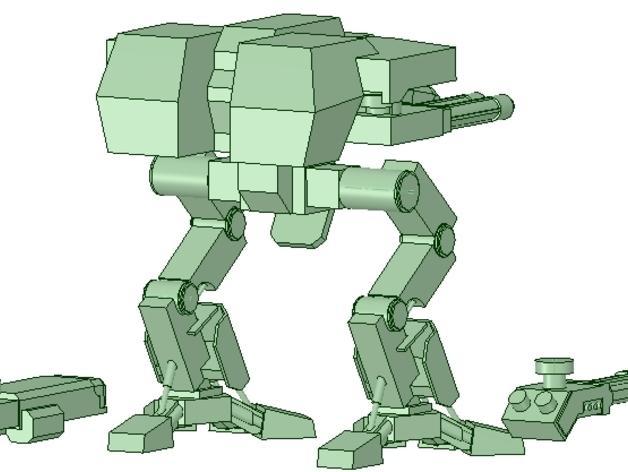 金星版本的战犬泰坦 3D模型  图5