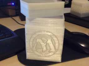 M形魔法卡片收纳盒 3D模型