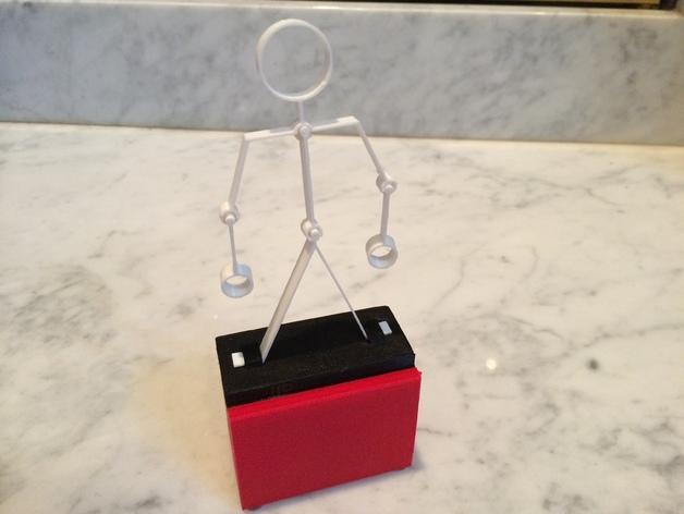 会跳舞的小玩偶 3D模型  图1