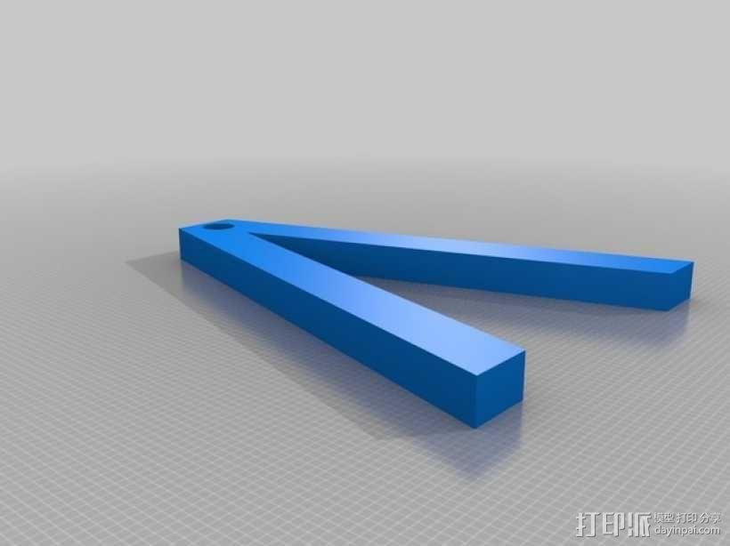 可转动的迷你书架 3D模型  图4
