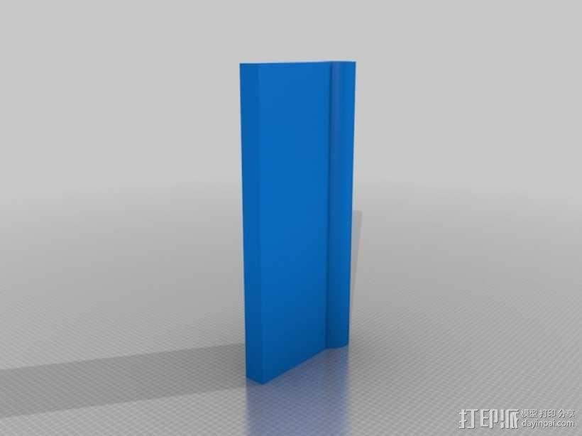 可转动的迷你书架 3D模型  图6
