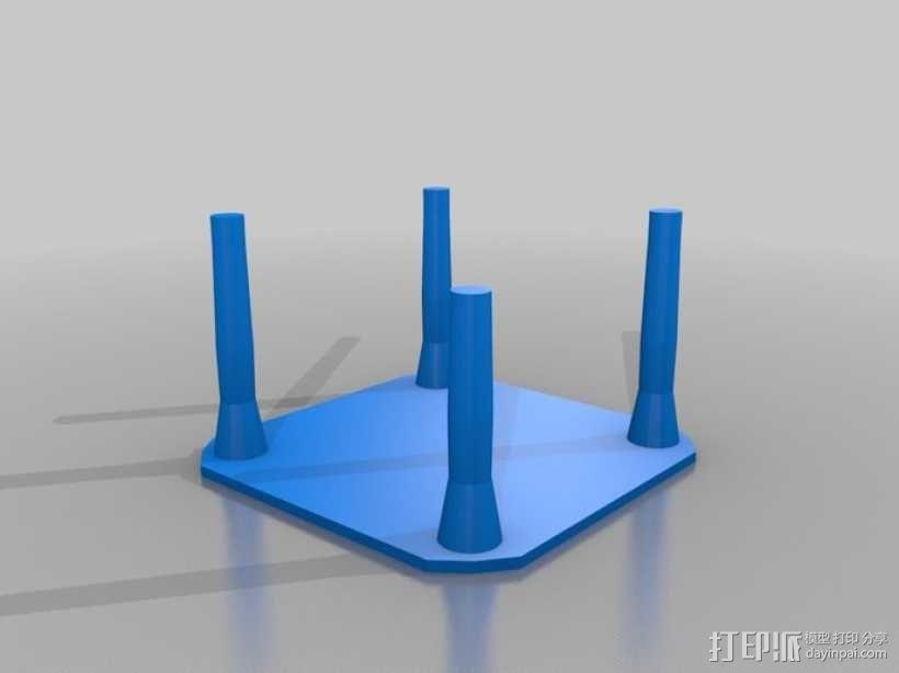 迷你玩具屋模型 3D模型  图2