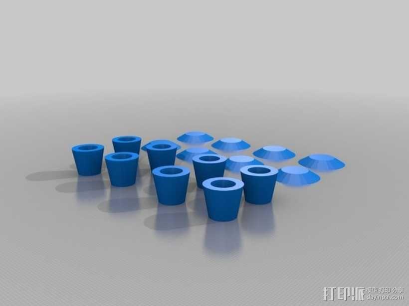迷你玩具屋模型 3D模型  图3