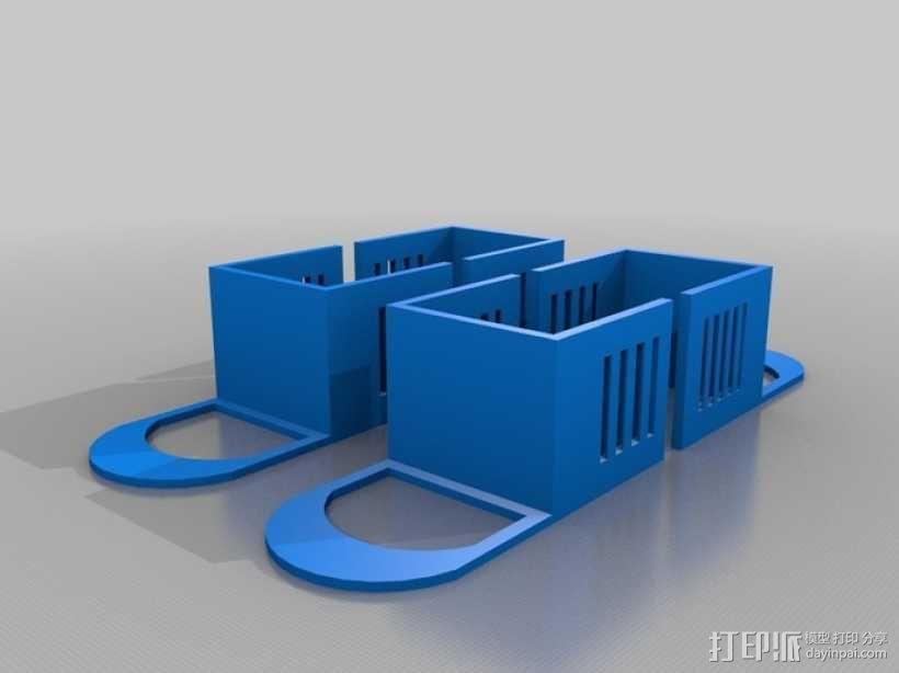 迷你玩具屋模型 3D模型  图4