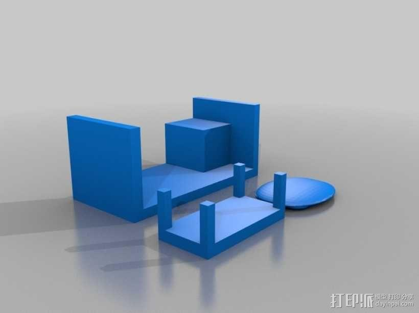 迷你玩具屋模型 3D模型  图8