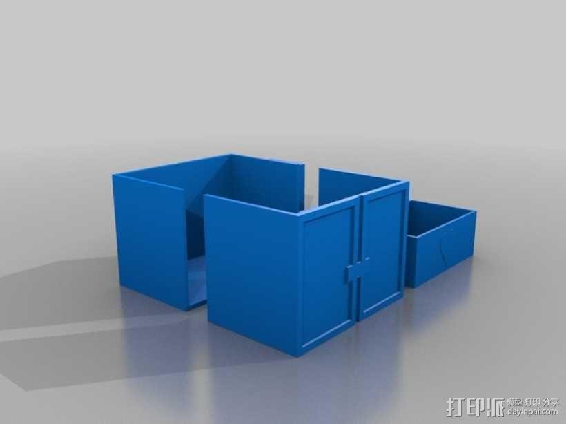 迷你玩具屋模型 3D模型  图17