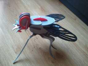 迷你苍蝇拼图模型 3D模型