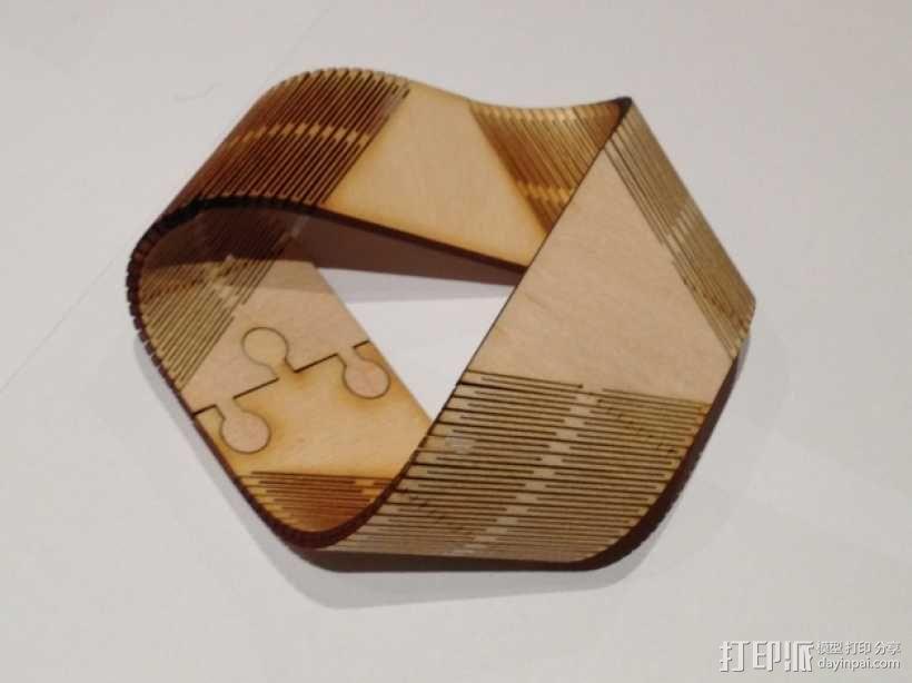 莫斯比环 3D模型  图2