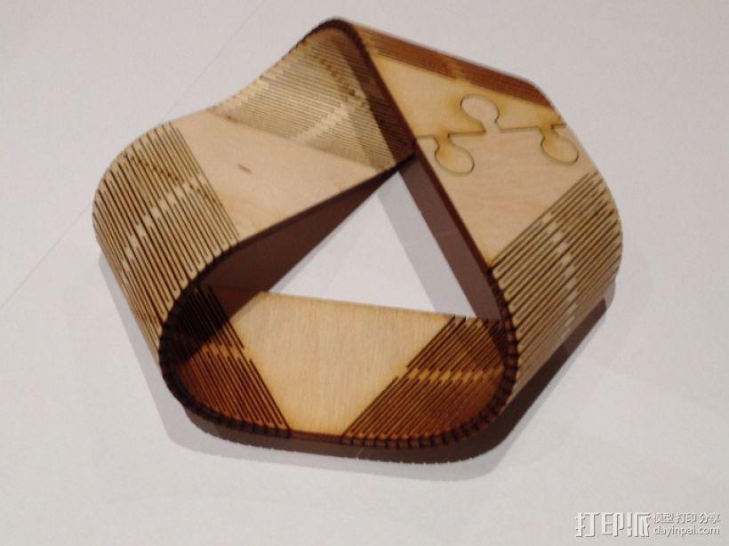 莫斯比环 3D模型  图3