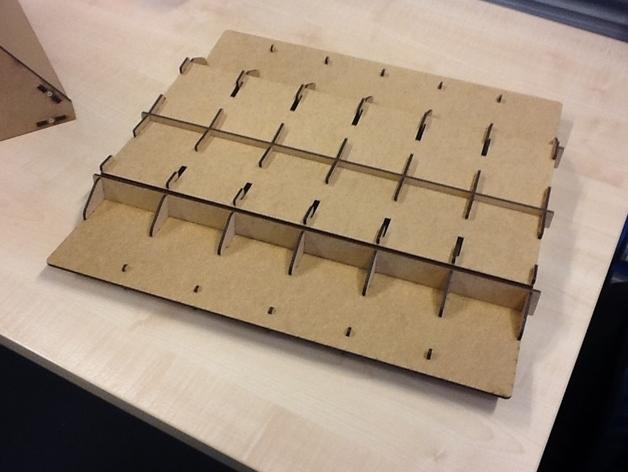 游戏卡牌收纳板 3D模型  图1