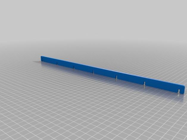 游戏卡牌收纳板 3D模型  图2