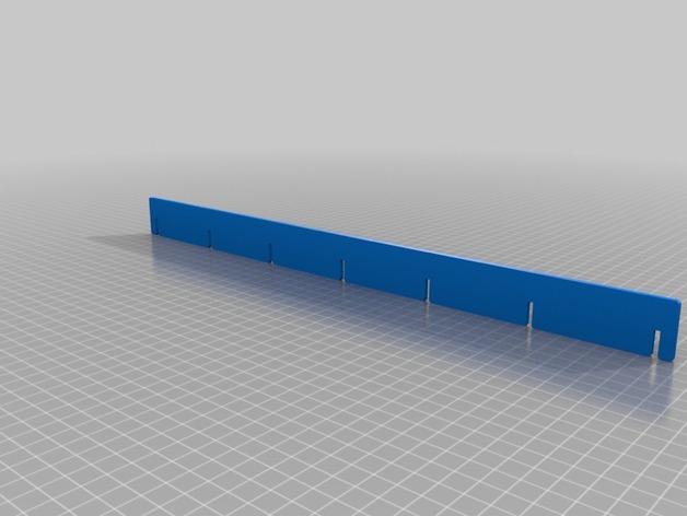 游戏卡牌收纳板 3D模型  图3