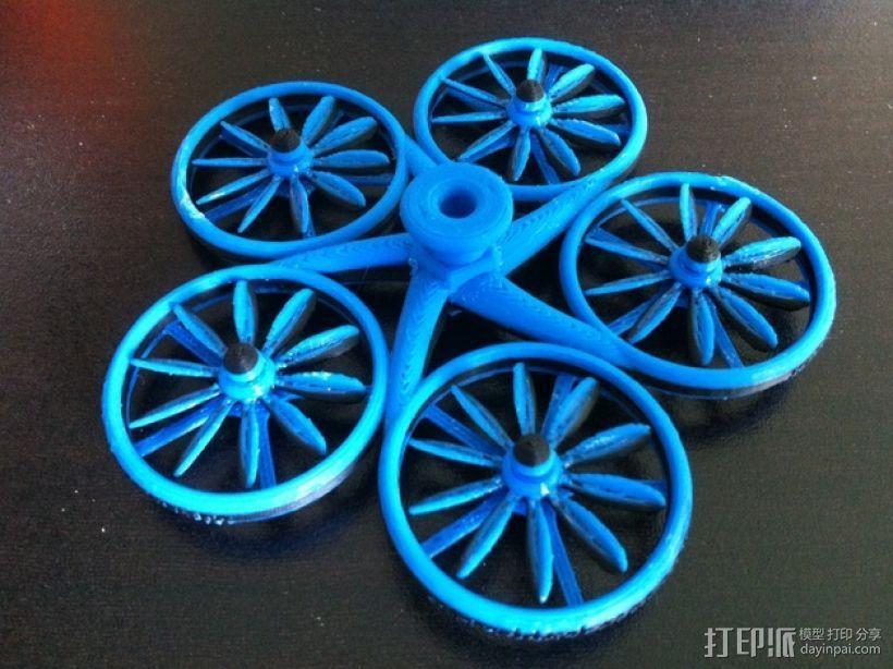 螺旋状式陀螺模型 3D模型  图1
