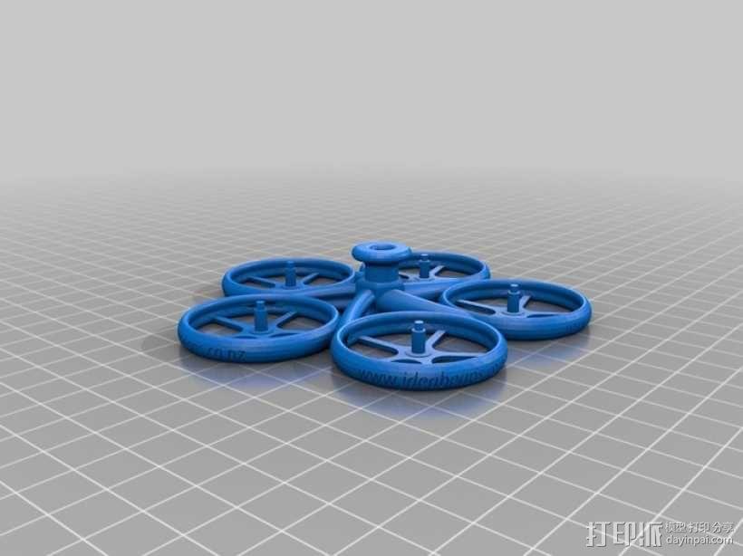 螺旋状式陀螺模型 3D模型  图3