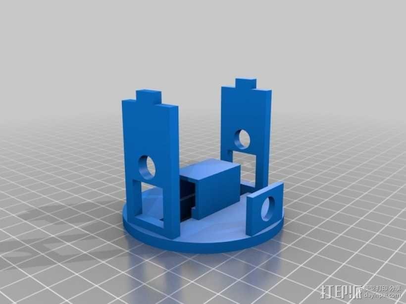 蝴蝶泉翻天乐 3D模型  图2
