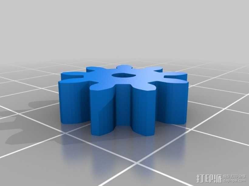蝴蝶泉翻天乐 3D模型  图3