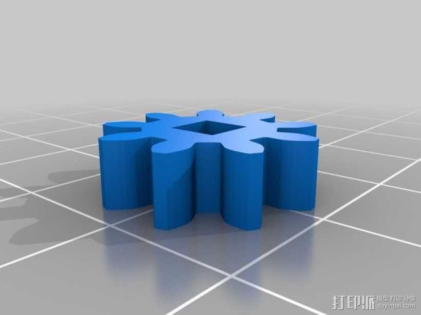 蝴蝶泉翻天乐 3D模型  图5