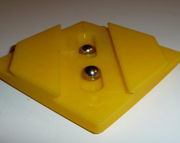 双层鸠尾榫拼图 3D模型  图4