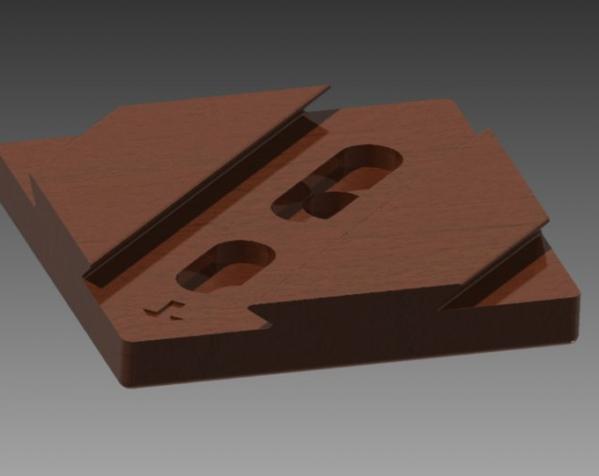 双层鸠尾榫拼图 3D模型  图5
