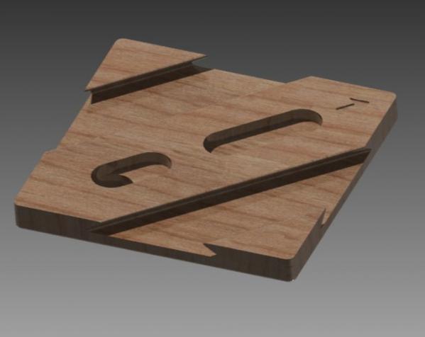 双层鸠尾榫拼图 3D模型  图7