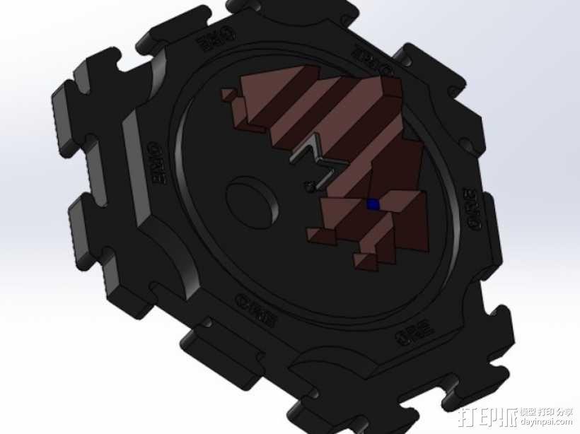卡坦岛拓荒者瓦片 3D模型  图7