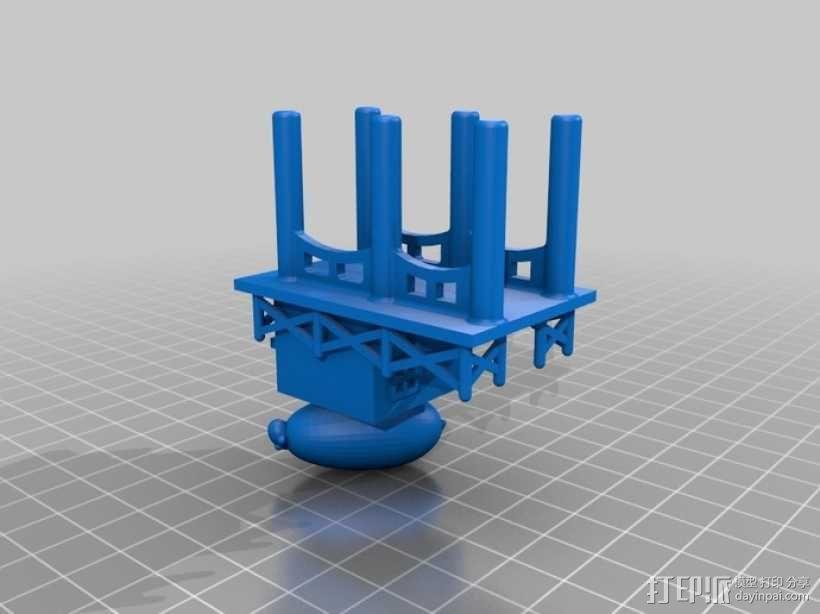 卡坦岛拓荒者瓦片 3D模型  图11