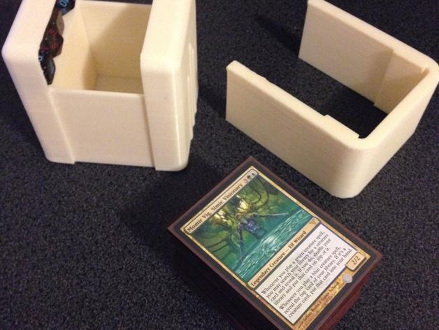 CCG游戏卡收纳盒 3D模型  图4