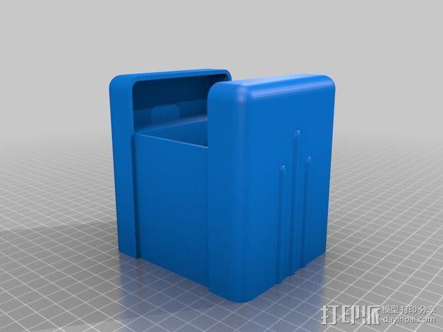 CCG游戏卡收纳盒 3D模型  图6
