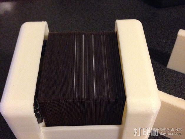 CCG游戏卡收纳盒 3D模型  图3