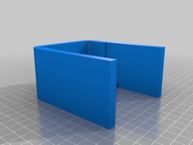 CCG游戏卡收纳盒 3D模型  图7