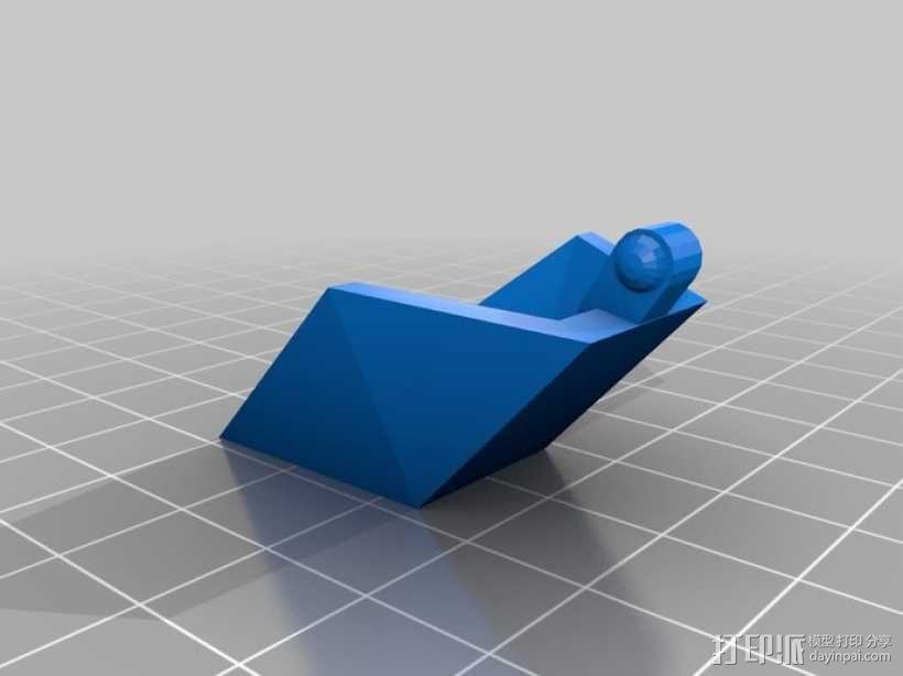 乐高Arwing宇宙飞船 3D模型  图3