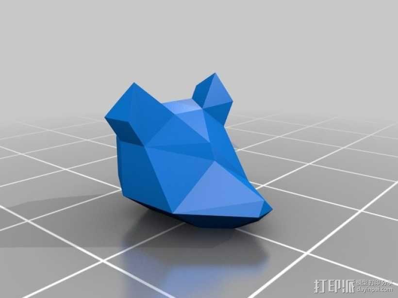 乐高Arwing宇宙飞船 3D模型  图6