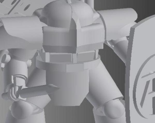 Talan军团 3D模型  图2