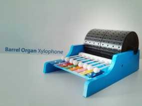 迷你木琴模型 3D模型