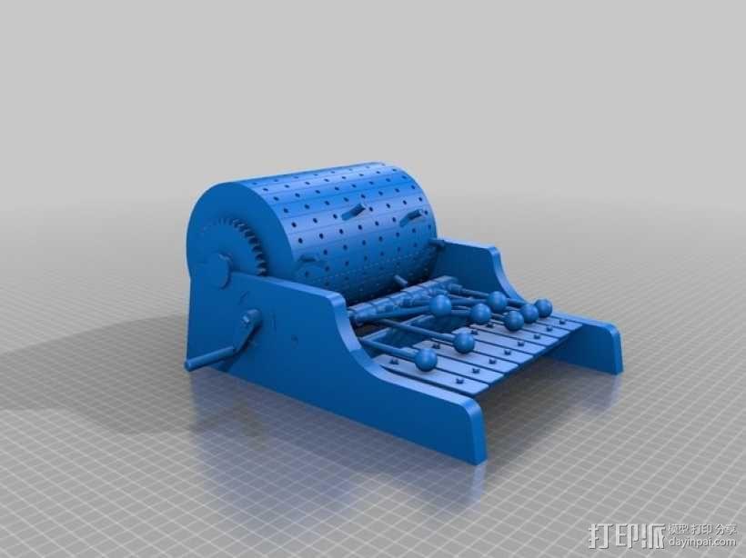 迷你木琴模型 3D模型  图2