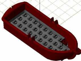 乐高玩具船 3D模型