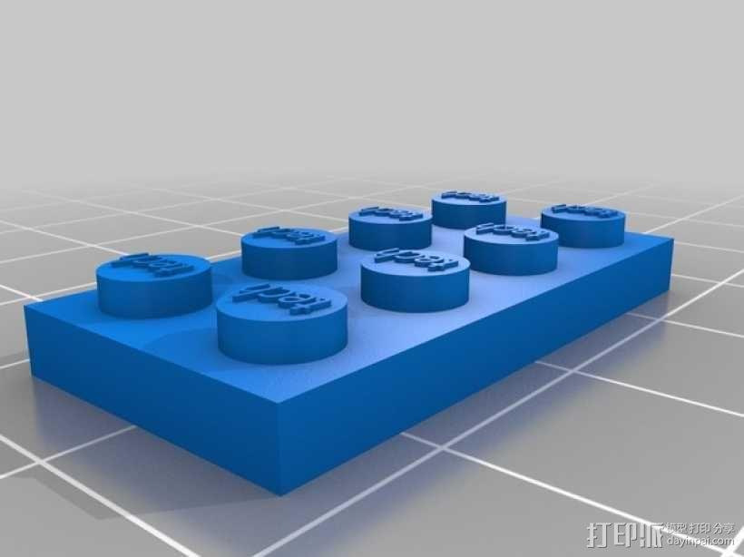 乐高玩具船 3D模型  图5