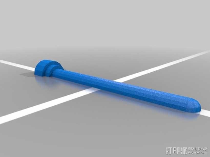 乐高玩具船 3D模型  图7