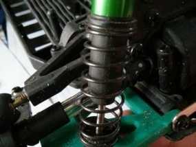 遥控赛车的低前悬吊结构臂 3D模型