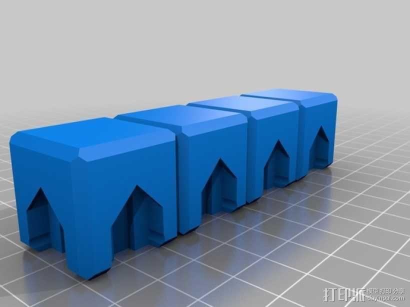 磁力俄罗斯方块玩具 3D模型  图4