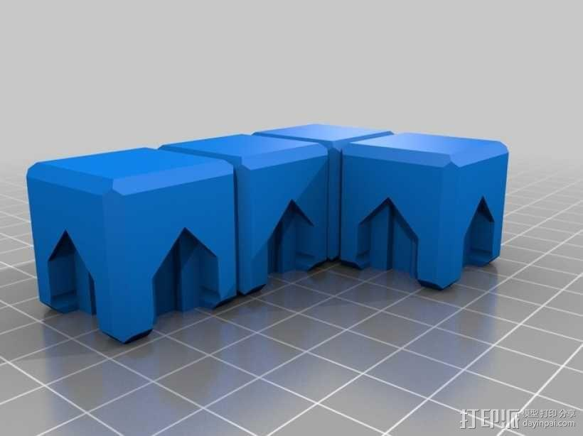 磁力俄罗斯方块玩具 3D模型  图6