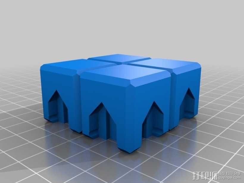 磁力俄罗斯方块玩具 3D模型  图7