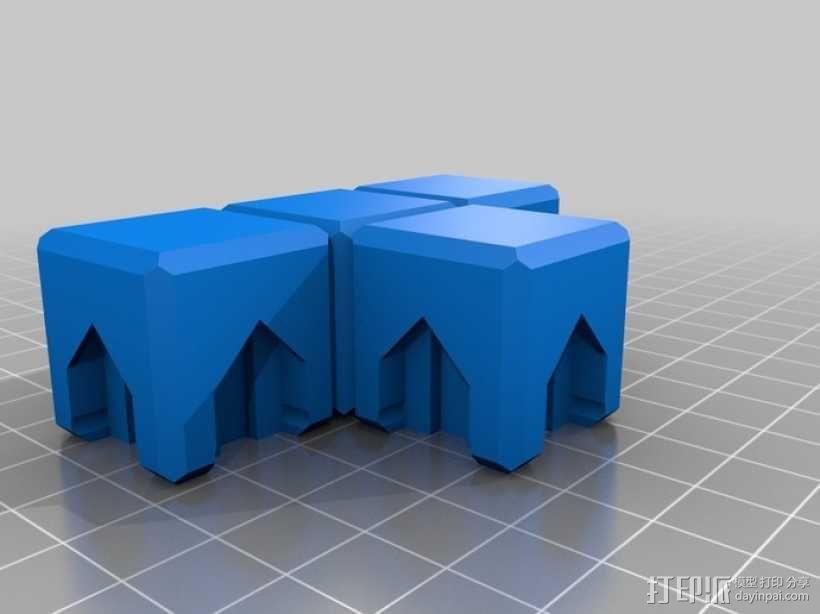 磁力俄罗斯方块玩具 3D模型  图8