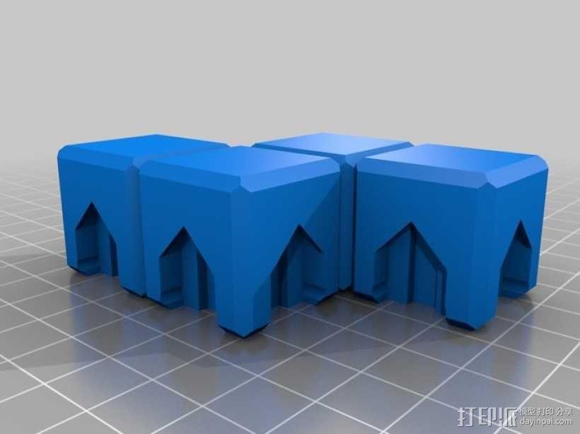 磁力俄罗斯方块玩具 3D模型  图9