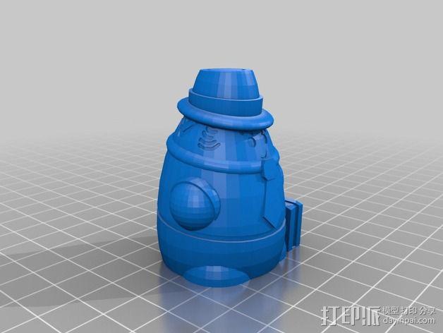 Squigglepeeps玩偶 3D模型  图10