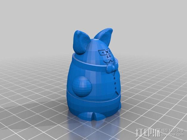 Squigglepeeps玩偶 3D模型  图12