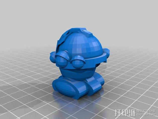 Squigglepeeps玩偶 3D模型  图11