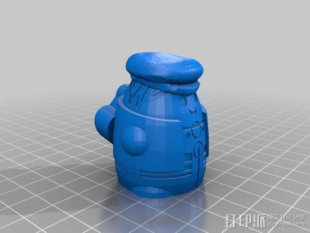 Squigglepeeps玩偶 3D模型  图13
