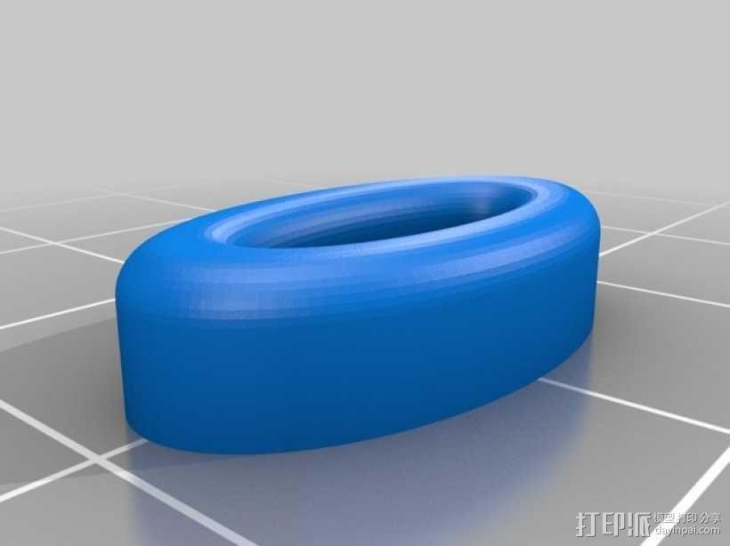 扁平状迷你鱼 3D模型  图3