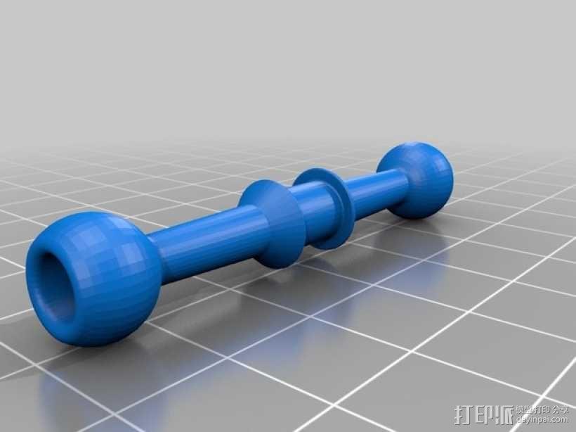 旋转机器人 3D模型  图2